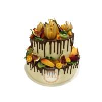 Свадебный Торт С Фруктами Инжир T23453